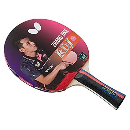 Butterfly RDJ S1 ITTF Approved Ping Pong Paddle Great Spin Speed & Control Table Tennis Racket