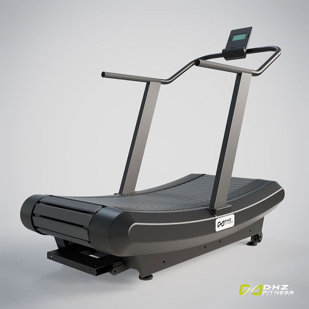 Commercial Manual Curved Treadmill A7000 Cardio Exercise Equipment