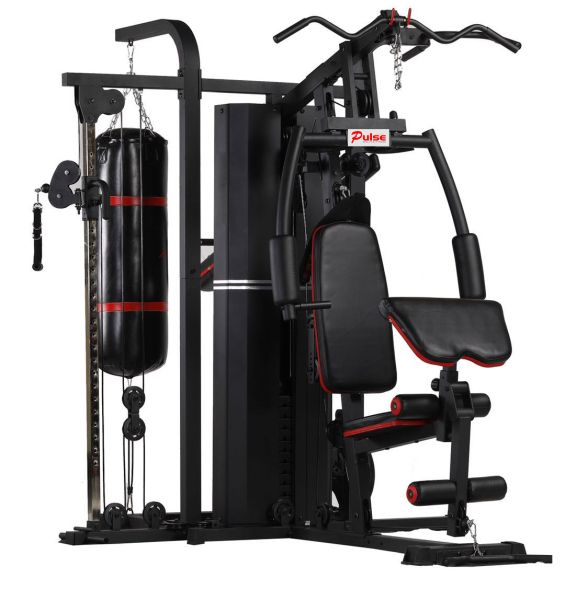 4 Station Home Gym - Cable Cross Function - MS641S